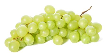 Photo pour Grapes isolated - image libre de droit