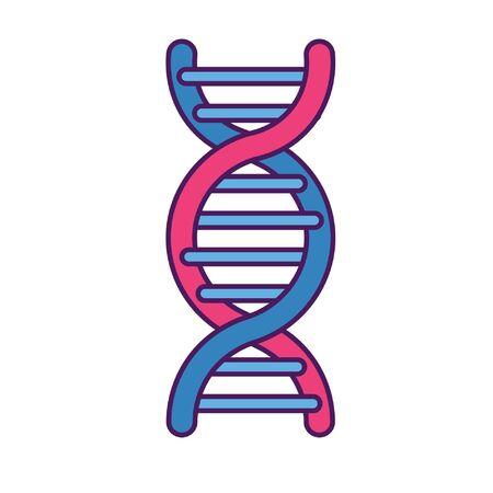 Illustration pour dna helix icon - image libre de droit