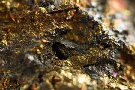 Photo pour Golden gem background  Macro - image libre de droit