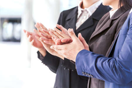 Photo for Business people clapping hands in the meeting - Royalty Free Image