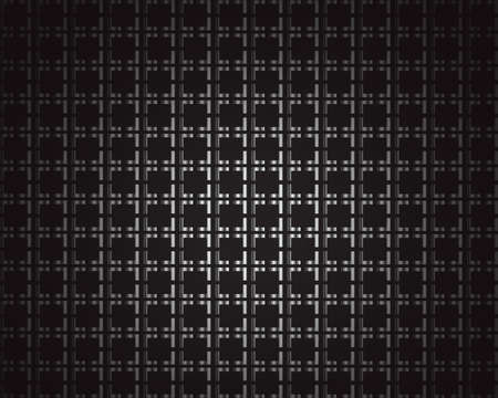 Black metallic background with squares and space for text