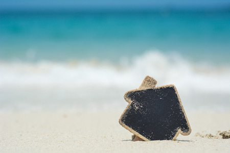 Foto de Dream beach house concept - Imagen libre de derechos