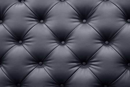 Black leather sofa texture background
