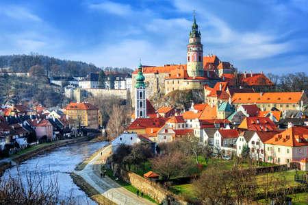 Photo pour Cesky Krumlov, Czech Republic - image libre de droit