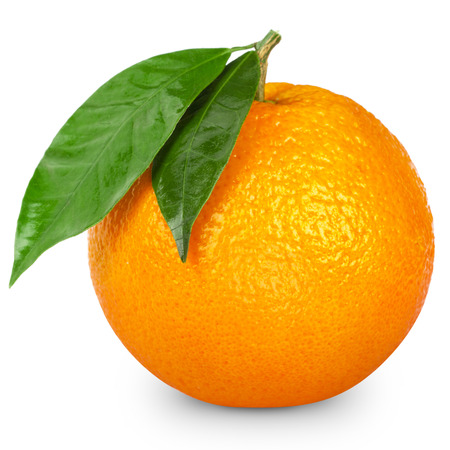 Photo for Orange isolated on white background - Royalty Free Image