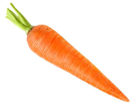 Photo pour carrots isolated on white background - image libre de droit