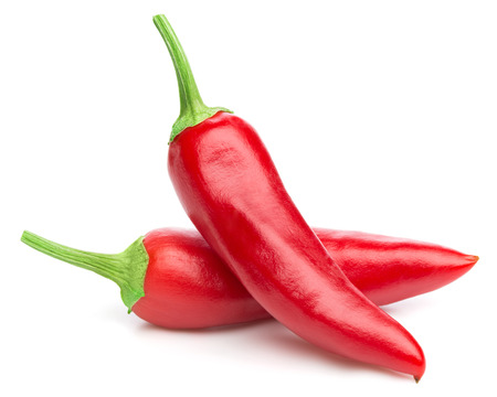 Photo pour chili pepper isolated - image libre de droit