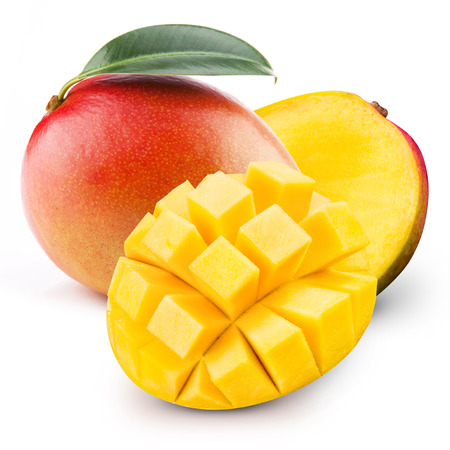 Foto de mango isolated - Imagen libre de derechos