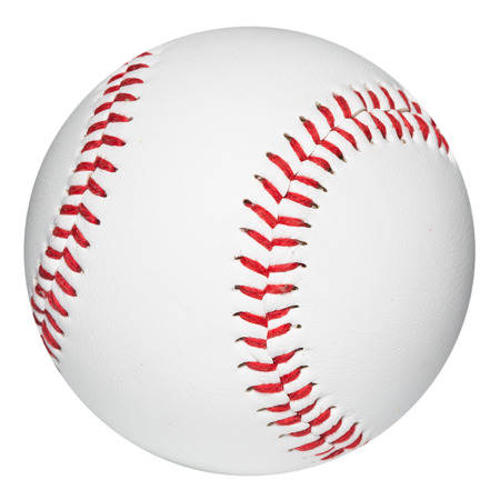 Baseball ball. Clipping Path