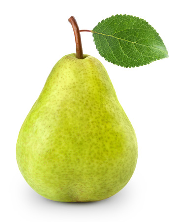 Photo pour pear isolated on white background - image libre de droit