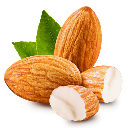 Photo for almonds nuts isolated - Royalty Free Image