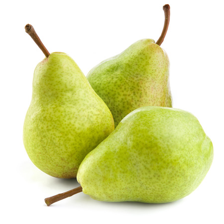 Photo pour Ripe pears isolated on white background - image libre de droit