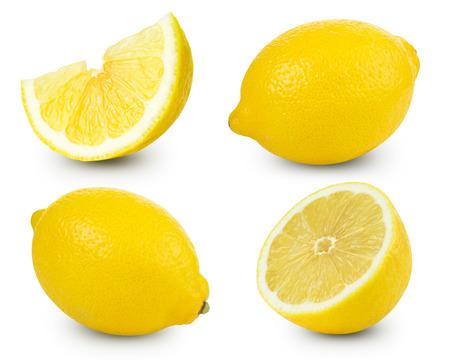 Photo pour Lemon fruits collection   - image libre de droit