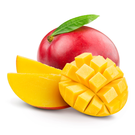 Foto de mango fruit isolated - Imagen libre de derechos