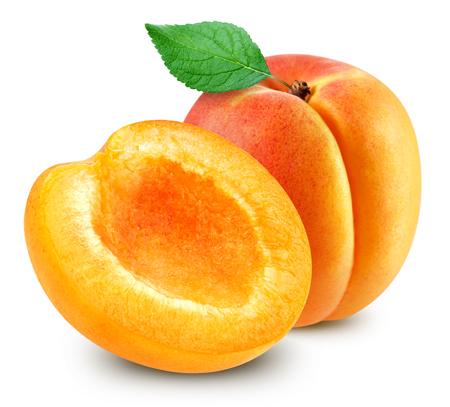 Photo for apricot fruits isolated - Royalty Free Image