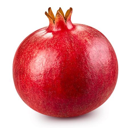 Photo pour pomegranate fruit isolated - image libre de droit