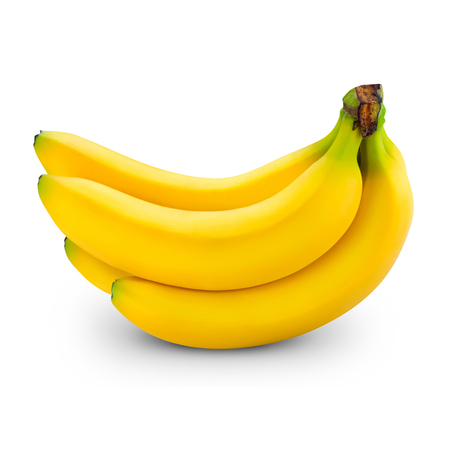 Foto de banana isolated on white - Imagen libre de derechos