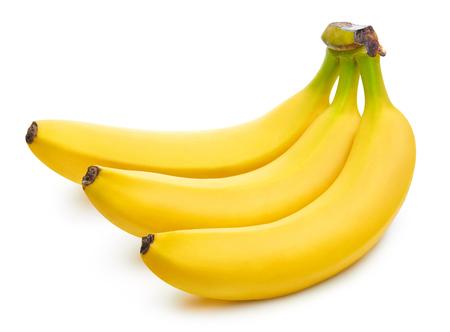 Photo pour Bunch of bananas isolated - image libre de droit