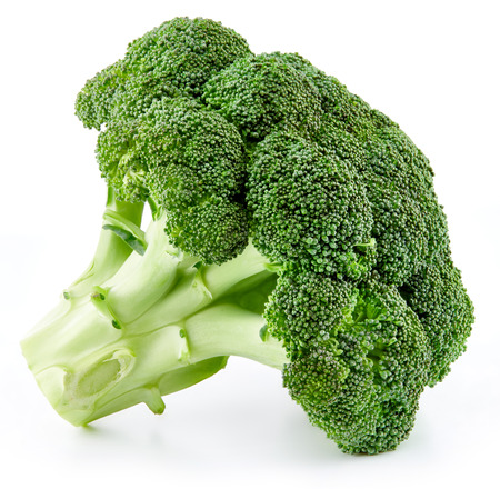 Photo pour raw broccoli isolated - image libre de droit