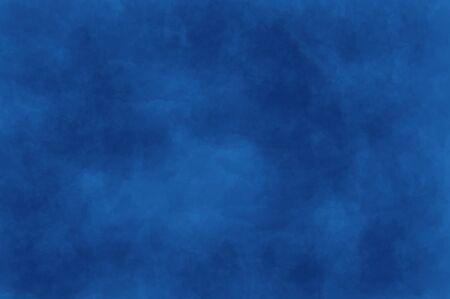 Foto de Abstract modern painting . Dry brush painted paper , canvas , wall .Textured background in blue tones. - Imagen libre de derechos