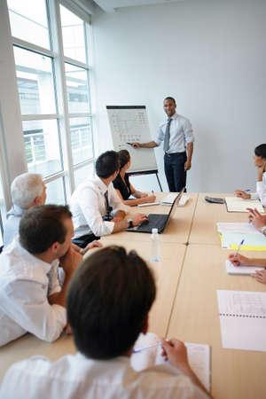 Foto de Office presentation - Imagen libre de derechos