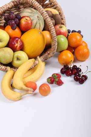 Photo for Basket of fruit - Royalty Free Image