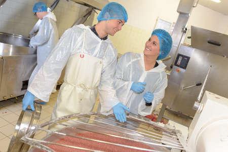 Photo pour food processing plant - image libre de droit