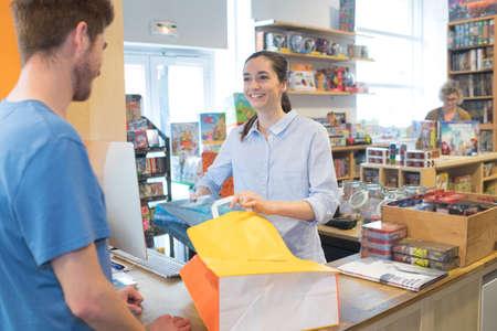 Foto de in the bookshop - Imagen libre de derechos