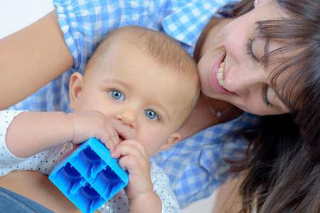 Photo pour the little boy gnawing the special adaptation - image libre de droit