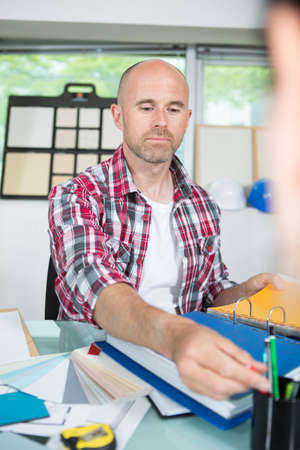 Photo for portrait of a handsome designer in the office - Royalty Free Image