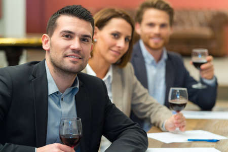 Photo for salesmen in a winery - Royalty Free Image