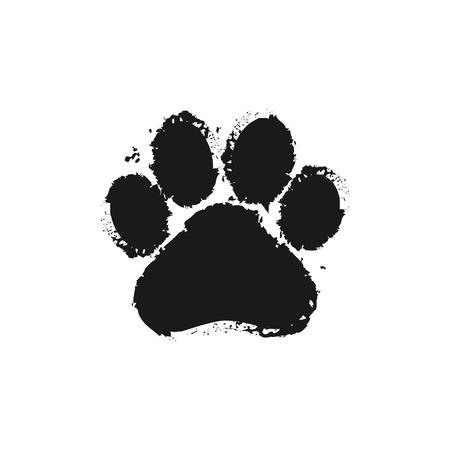 Illustration for Paw Prints - Royalty Free Image