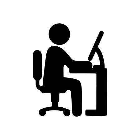 Illustration pour Working - image libre de droit