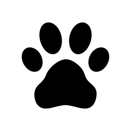 Illustration for Paw Print - Royalty Free Image
