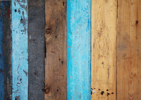 Foto per Vintage painted wooden background - Immagine Royalty Free