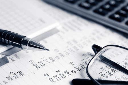 Foto de Financial accounting - Imagen libre de derechos