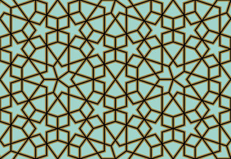 Illustration for Traditional Arabic Design - Royalty Free Image