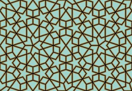 Illustration pour Traditional Arabic Design - image libre de droit