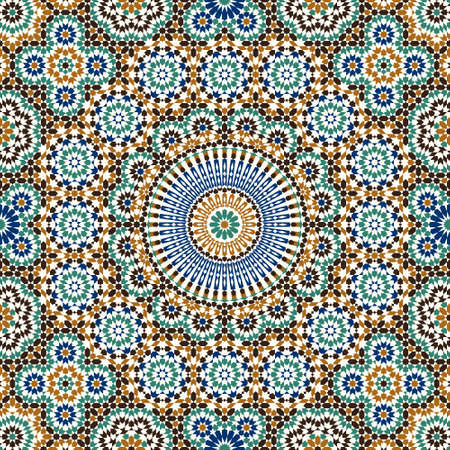 Ilustración de Traditional Morocco Design - Imagen libre de derechos
