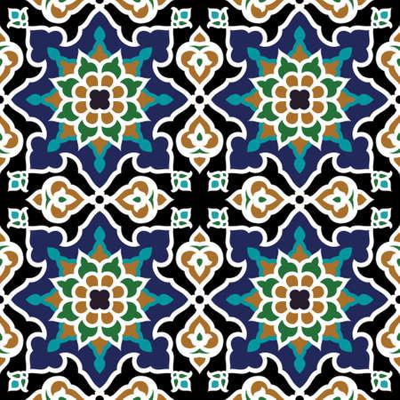 Illustration pour Iran Seamless Pattern - image libre de droit