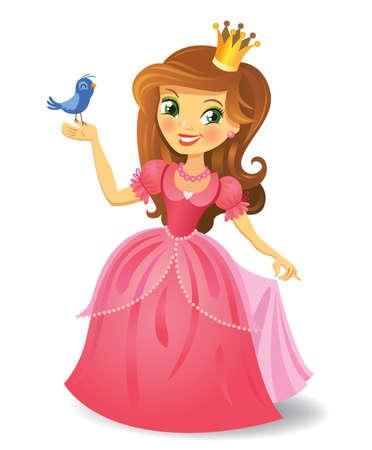 Illustration for Beautiful princess - Royalty Free Image