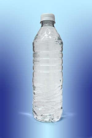 Bottle of fresh water