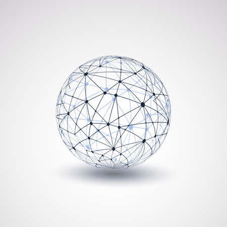 Illustration pour Globe Design - Networks - image libre de droit