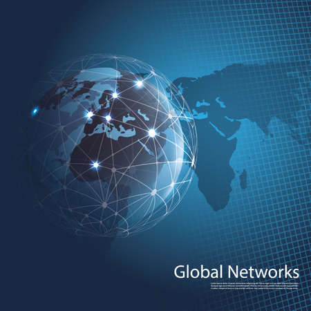 Illustration pour Global Networks - EPS10 Vector for Your Business - image libre de droit