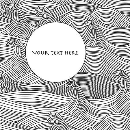 Ilustración de Abstract Vector Background - Imagen libre de derechos