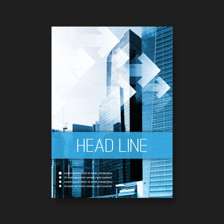Foto per Flyer or Cover Design Template  Business Corporate Identity - Immagine Royalty Free