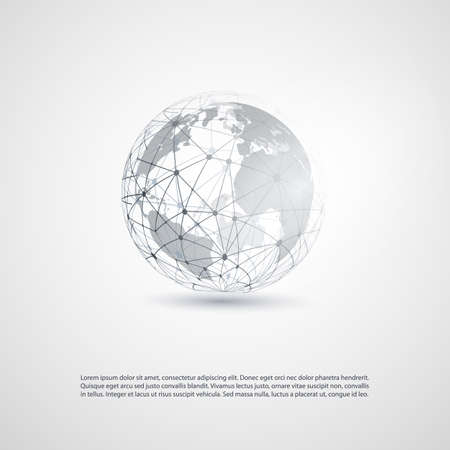 Illustration for Cloud Computing and Networks Concept - Royalty Free Image