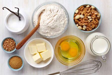 Photo for Ingredients for baking cake - Royalty Free Image