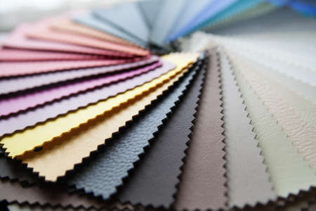 Photo for colored leather - Royalty Free Image