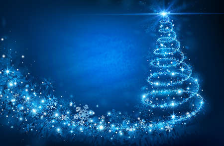 Illustration for Christmas Tree - Royalty Free Image
